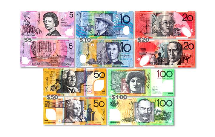 オーストラリアの紙幣