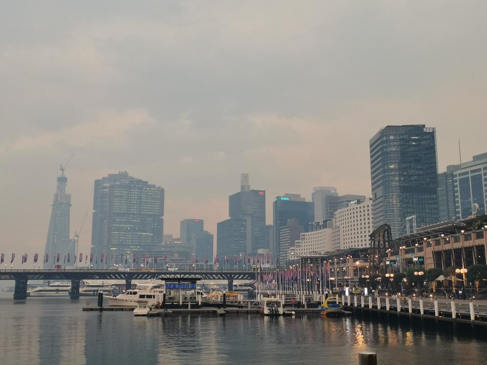 12月2日のシドニー